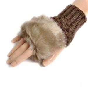 Женские теплые рукавицы Camel