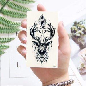 Переводная татуировка Олень