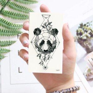 Переводная татуировка Медведь