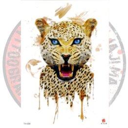 Переводная татуировка Леопард