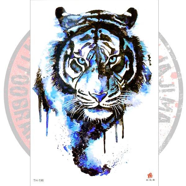 Переводная татуировка Тигр арт