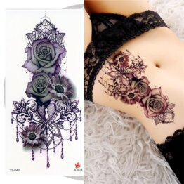 Переводная татуировка Барокко
