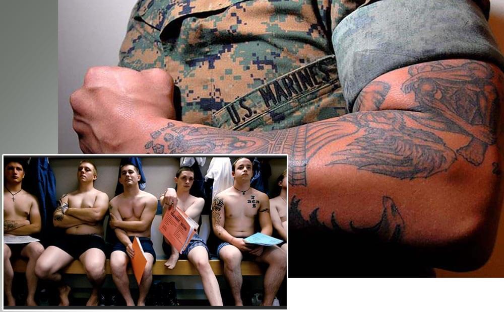 призывники армии США