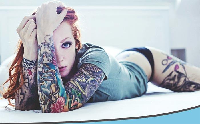 какие девушки делают татуировку