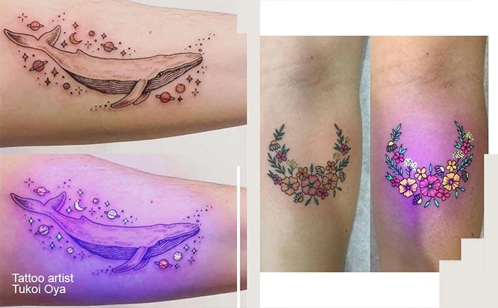 светящиеся татуировки
