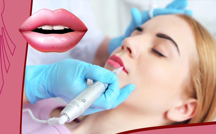 перманентный татуаж губ