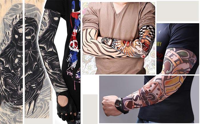 эластичный тату рукав