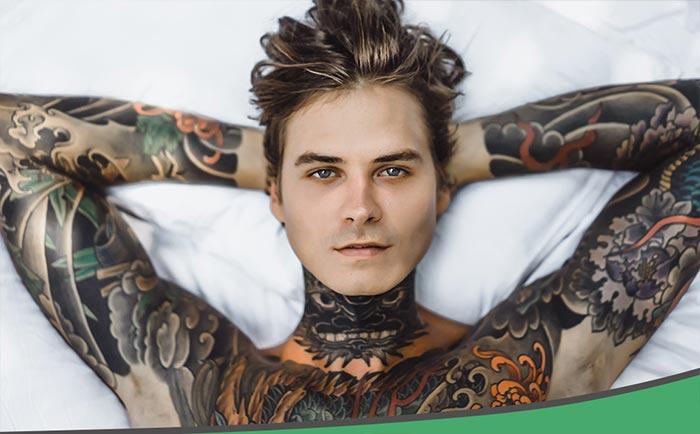 Не ослабевающая мода на восточные тату