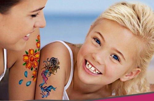 выбрать временное тату