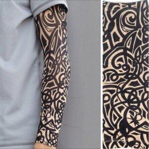 эластичный тату-рукав Трайбл