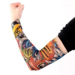 эластичный тату-рукав Stereo