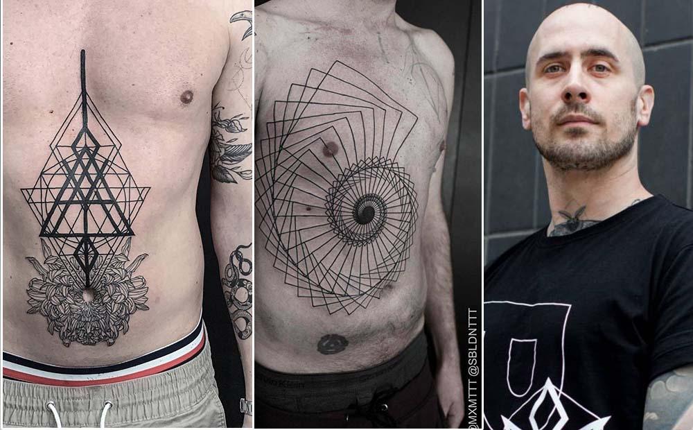Maxime Plescia-Buchi стиль геометрия